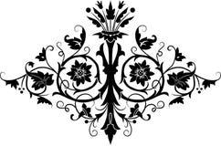 vektor för designelementblomma Arkivfoto