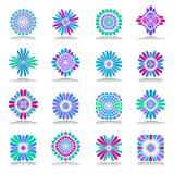 vektor för designelementset abstrakt symboler Royaltyfria Foton