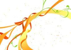vektor för detaljerad teckning för bakgrund blom- Royaltyfria Bilder