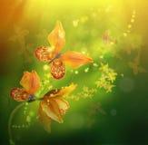 vektor för detaljerad teckning för bakgrund blom- Royaltyfria Foton