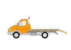 vektor för evakueringslkwspeciallastbil Arkivbilder