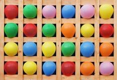 vektor för ferie för ballongfärgdagar Royaltyfri Bild