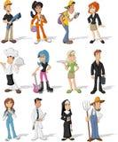 vektor för folk för affärsillustrationjpg Royaltyfri Foto