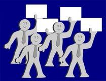 vektor för folk för affärsillustrationjpg Royaltyfri Illustrationer