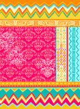 vektor för folkloric illustration för design blandad Royaltyfria Foton