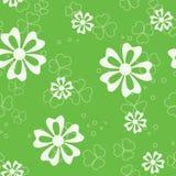 vektor för grön modell för floror seamless vektor illustrationer