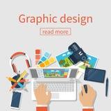 Vektor för grafisk design royaltyfri illustrationer