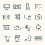 vektor för illustration för designelektroniksymboler dig stock illustrationer