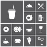 vektor för illustration för designmatsymboler dig Vektor Illustrationer