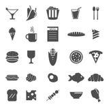 vektor för illustration för designmatsymboler dig Royaltyfri Foto