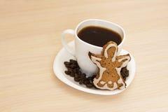 vektor för kaffekakakopp Arkivbilder