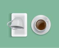 vektor för kaffekopp Royaltyfri Illustrationer