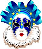 vektor för karnevalillustrationmaskering Arkivfoton
