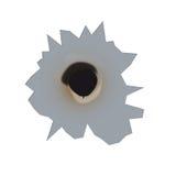 vektor för kulhål Arkivfoton