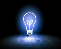 vektor för lampa för illustration för kulabegreppsidé Arkivfoton