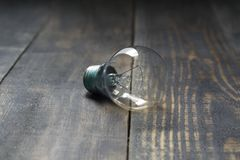 vektor för lampa för illustration för kulabegreppsidé Tappningkula som isoleras av skönheten av träbrädefibrer royaltyfri foto