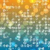 vektor för 10 ljus eps-stjärnor för abstrakt bakgrund Royaltyfri Foto