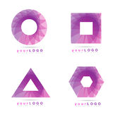 vektor för logo för illustration för designelementdiagram Royaltyfri Foto