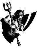 vektor för logomaskotjätte Royaltyfri Bild
