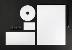 vektor för mall för identitet för illustrationsaffär företags Arkivfoton
