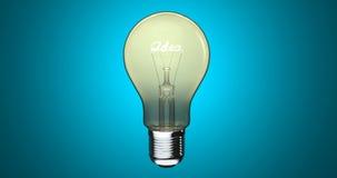 vektor för mall för logo för lampa för idé för symboler för element för kulasamlingsdesign set lager videofilmer