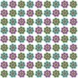 vektor för modell för färgblommaillustration Royaltyfri Fotografi