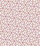 Vektor för modell för geometriskt tegelplattaraster grafisk sömlös vektor illustrationer