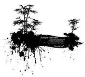 vektor för natur för grungeillustration modern Royaltyfri Fotografi