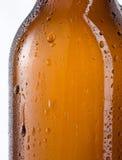 vektor för orange för bakgrundsölflaskaillustration Fotografering för Bildbyråer