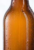 vektor för orange för bakgrundsölflaskaillustration Arkivbild
