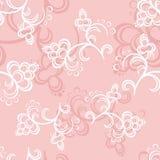 vektor för pink för konstblommamodell Royaltyfria Bilder