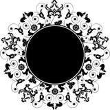 vektor för ram för designelement blom- Royaltyfri Fotografi