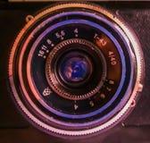 vektor för regnbåge för lins för illustration för kameraeffekt eps10 Royaltyfria Bilder