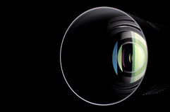 vektor för regnbåge för lins för illustration för kameraeffekt eps10 Arkivbilder