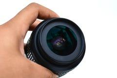 vektor för regnbåge för lins för illustration för kameraeffekt eps10 Arkivfoton