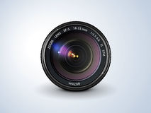 vektor för regnbåge för lins för illustration för kameraeffekt eps10 stock illustrationer