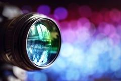 vektor för regnbåge för lins för illustration för kameraeffekt eps10 Arkivfoto