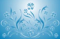 vektor för scroll för cartouchedekorillustration Royaltyfria Bilder