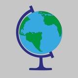 vektor för skola för designjordklotillustration dig Royaltyfri Foto