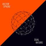 vektor för sphere 3d Arkivbilder