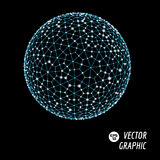 vektor för sphere 3d Arkivfoton