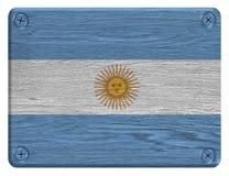 vektor för stil argentina för tillgänglig flagga glass Arkivfoton