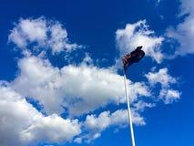 vektor för stil Australien för tillgänglig flagga glass Royaltyfri Foto