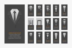 vektor för stil för logo för illustration för affärskort corporative Arkivbild