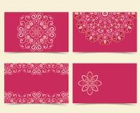 vektor för stil för logo för illustration för affärskort corporative stock illustrationer