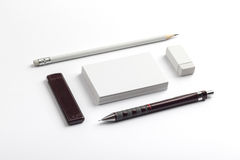 vektor för stil för logo för illustration för affärskort corporative Arkivfoto