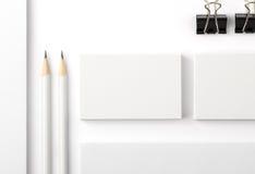 vektor för stil för logo för illustration för affärskort corporative Arkivbilder