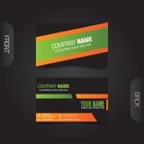 vektor för stil för logo för illustration för affärskort corporative Royaltyfri Fotografi