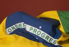 vektor för stil för tillgänglig brazil flagga glass Arkivfoto