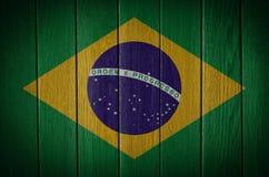 vektor för stil för tillgänglig brazil flagga glass Arkivfoton